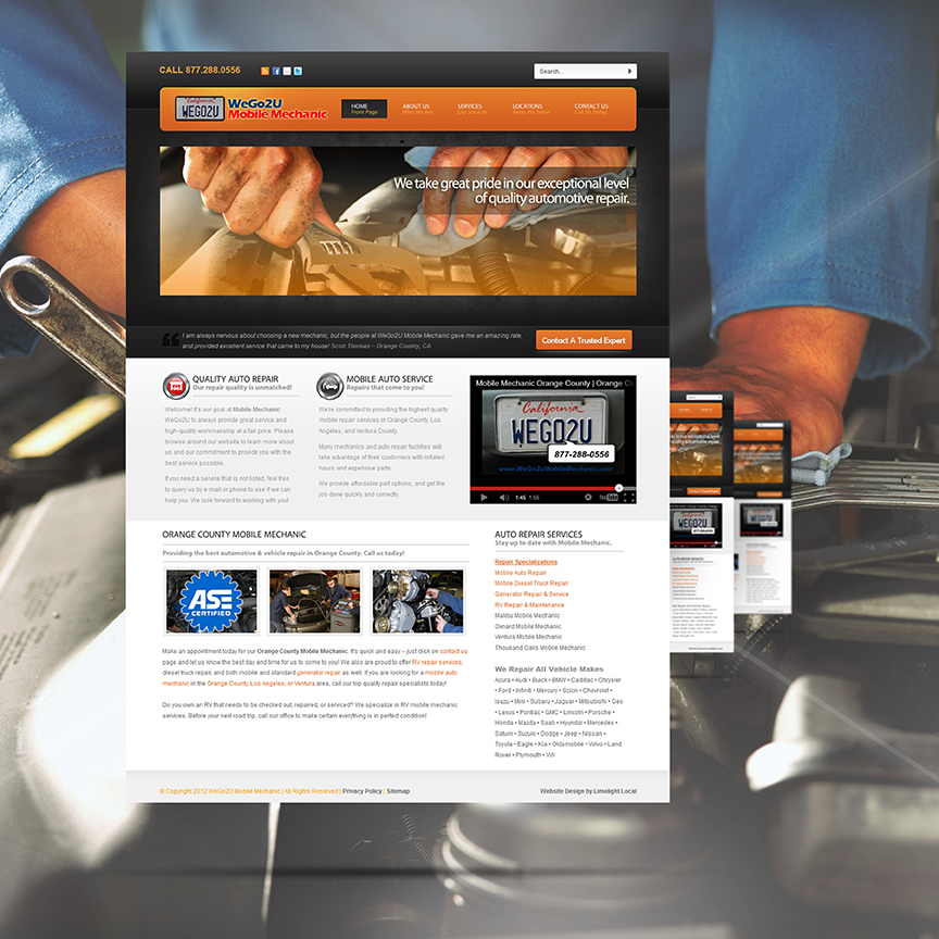 mechanic website