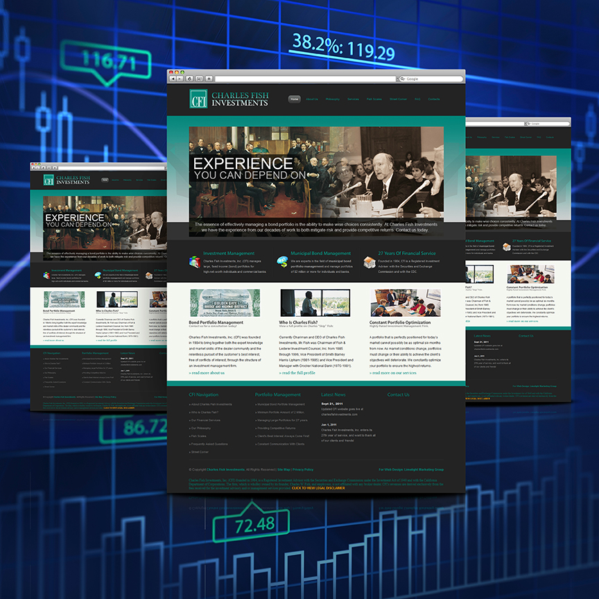 investment firm website